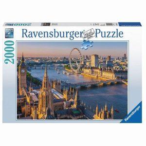 PUZZLE 2000 ravensburger nastrojowy Londyn